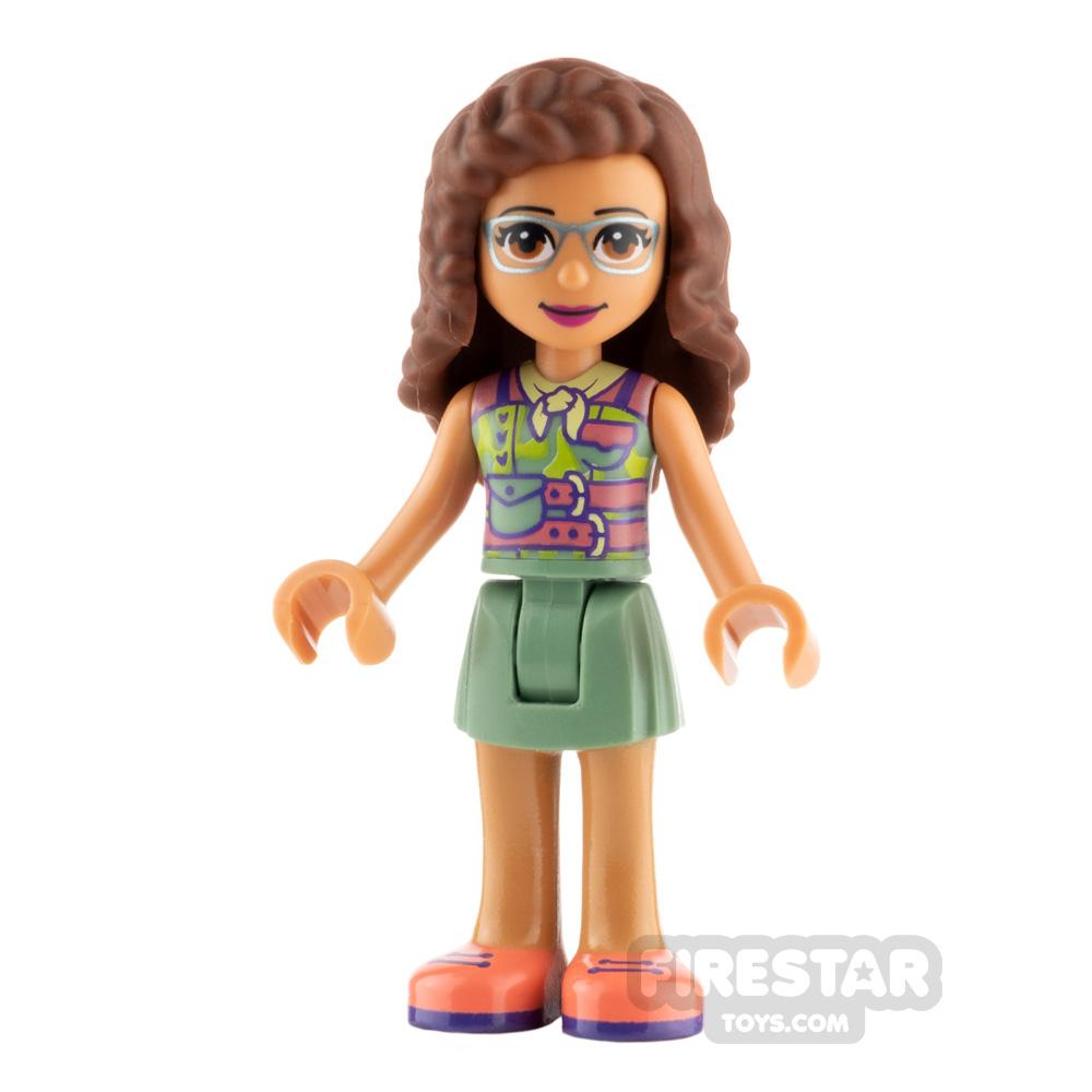 LEGO Friends Minifigure Olivia Coral Shoes