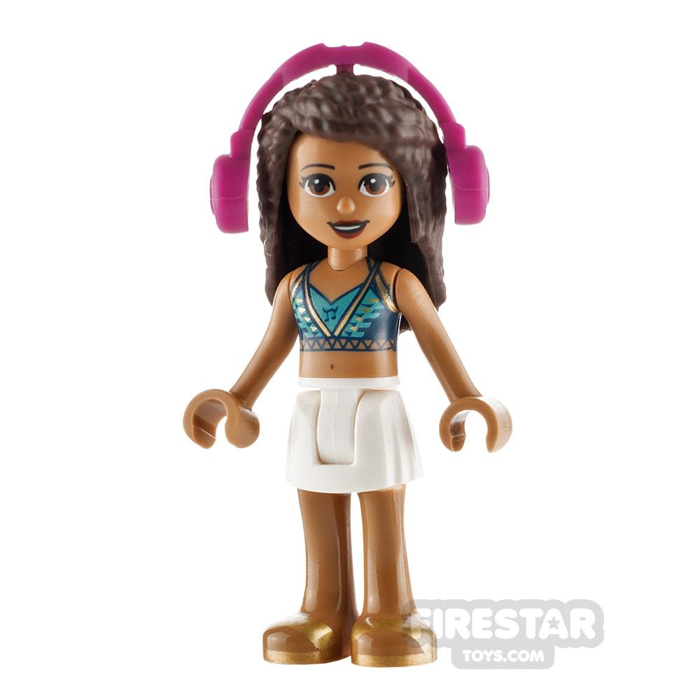 LEGO Friends Minifigure Andrea Halter Top