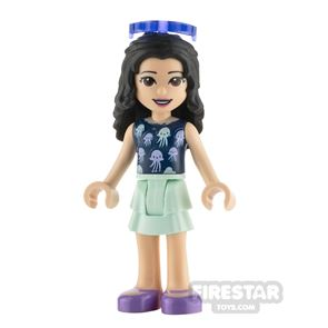 LEGO Friends Minifigure Emma Top with Jellyfish
