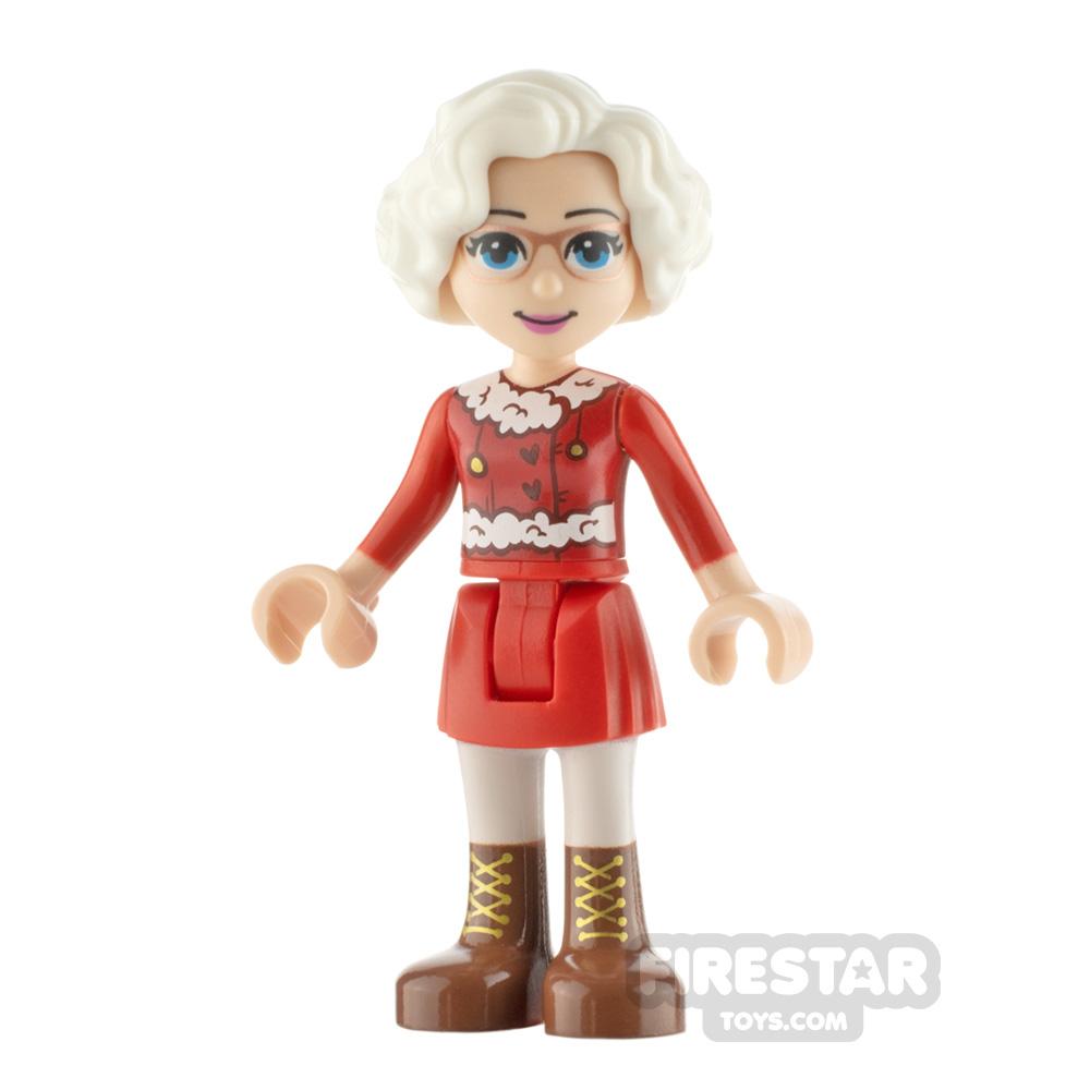 LEGO Friends Minifigure Mrs. Claus
