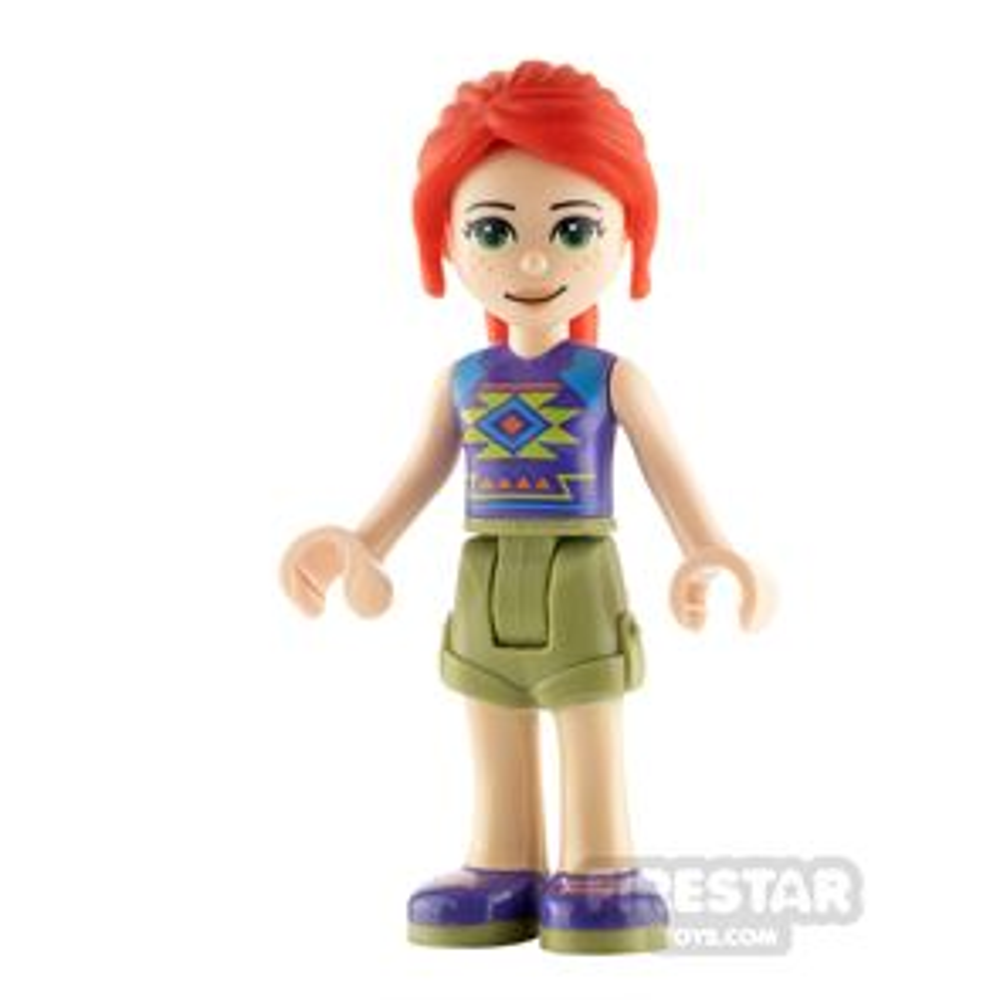 LEGO Friends Minifigure Mia Top with Diamonds