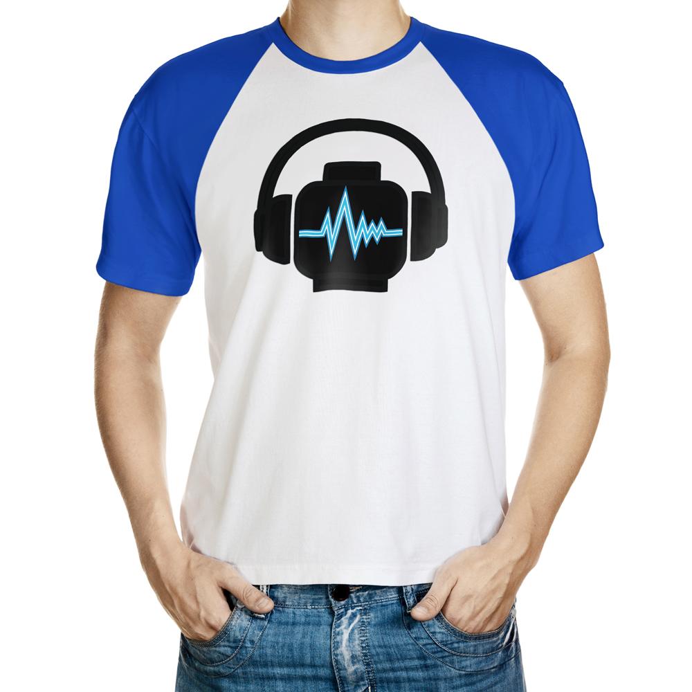 Minifigure Head With Headphones T-Shirt