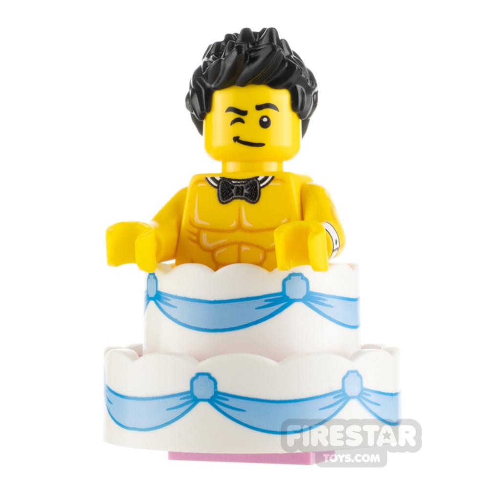 Custom Minifigure Cake Surprise Male