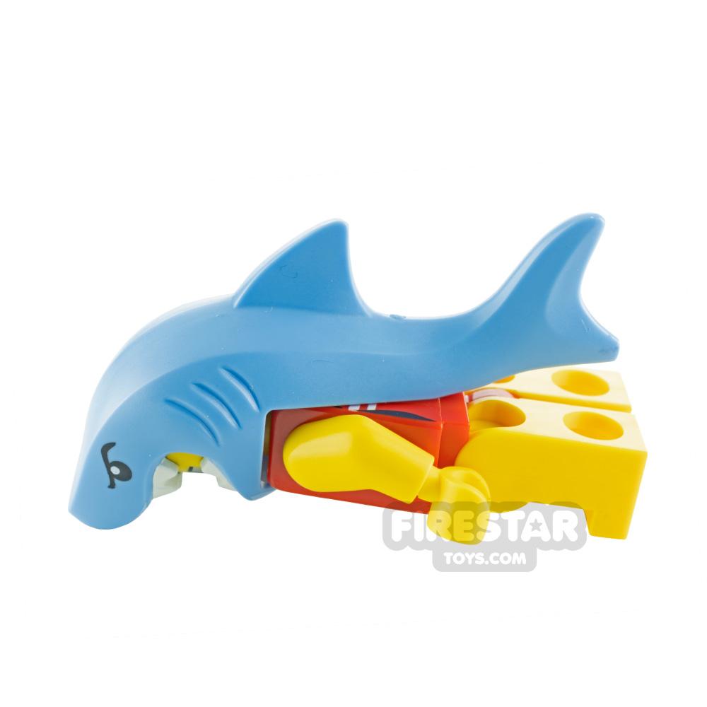 Custom Minifigure Shark Prank Girl