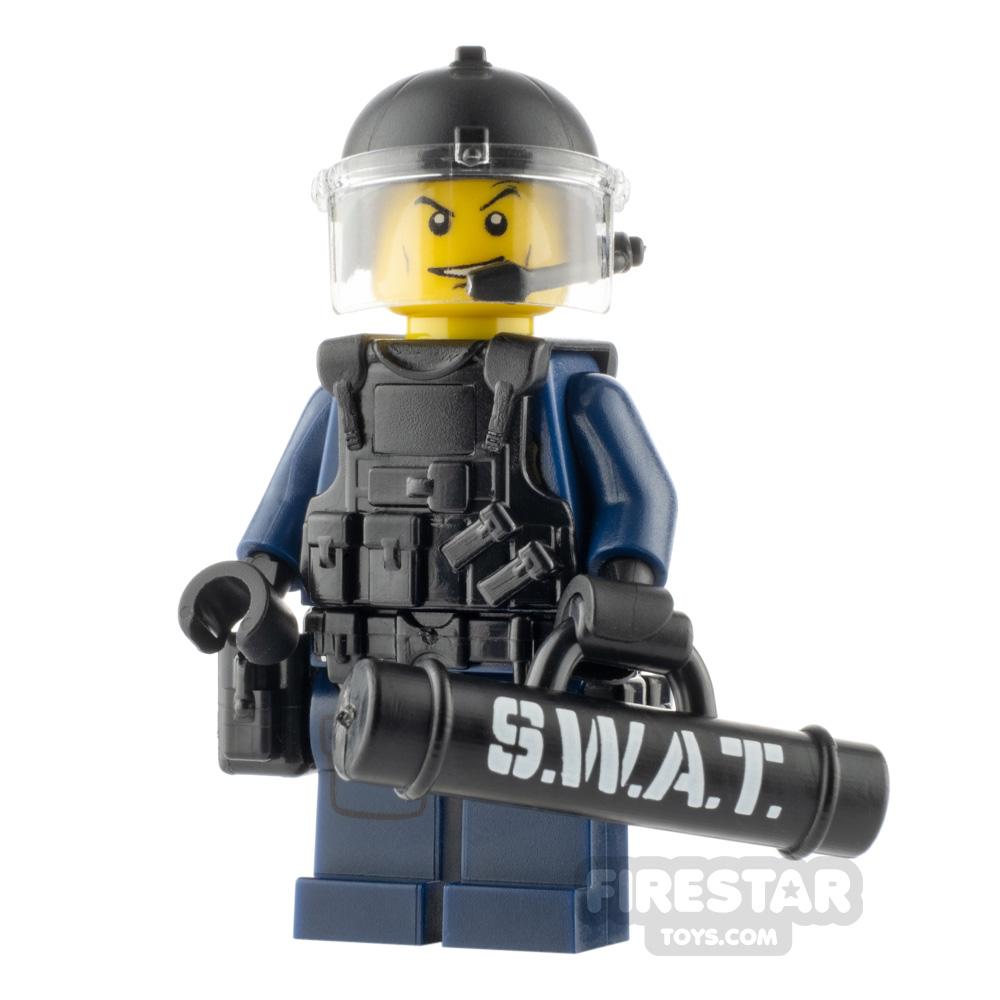 Custom Minifigure SWAT Door Breacher