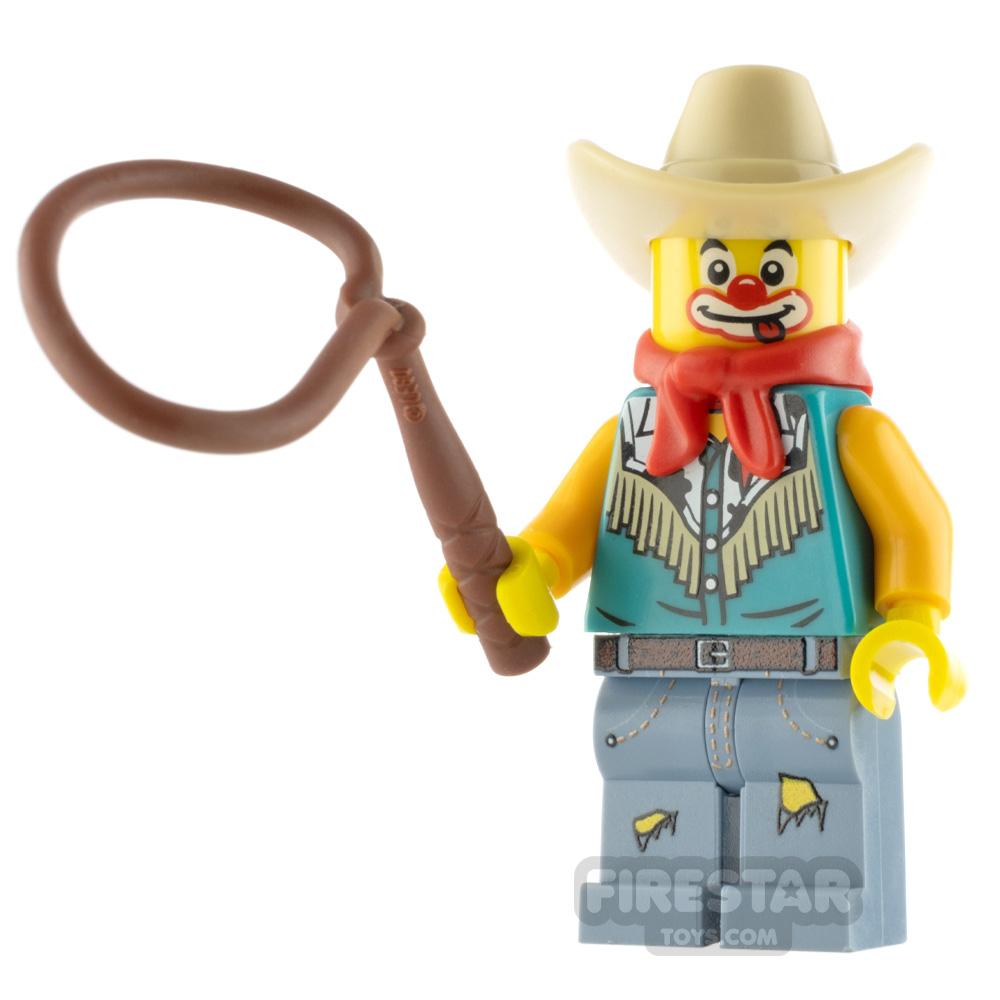 Custom Minifigure Rodeo Clown