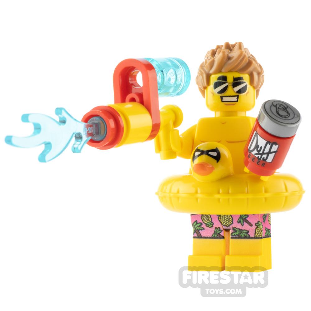 Custom Minifigure Pool Party Guy