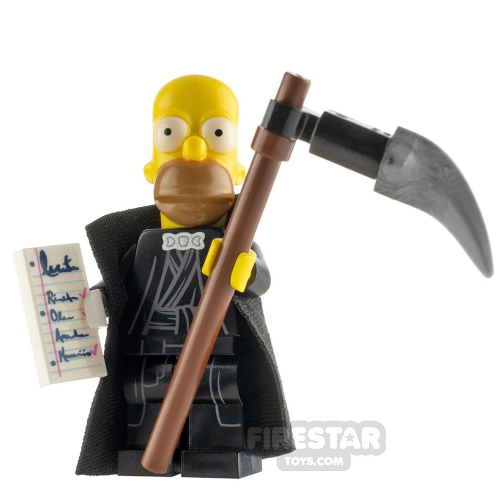 Custom Minifigure Homer Grimson