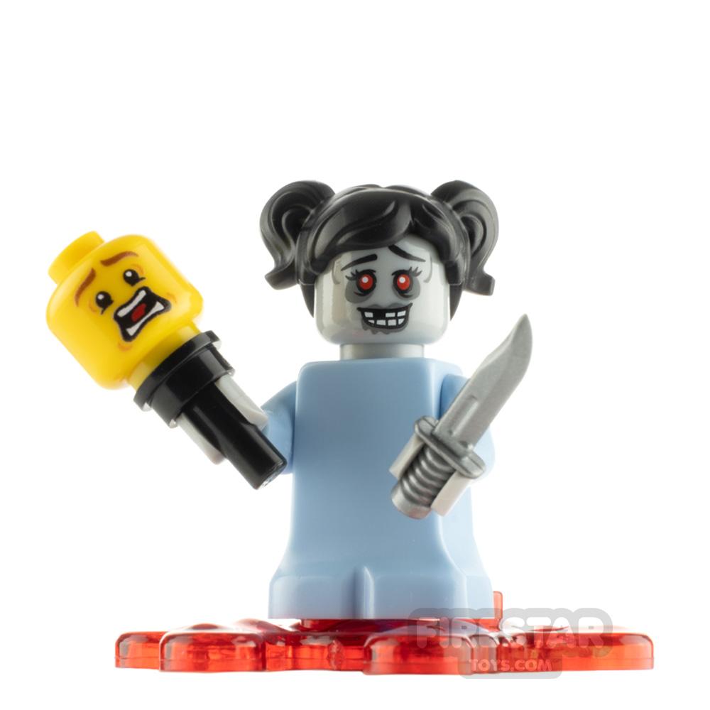 Custom Minifigure Zombie Baby