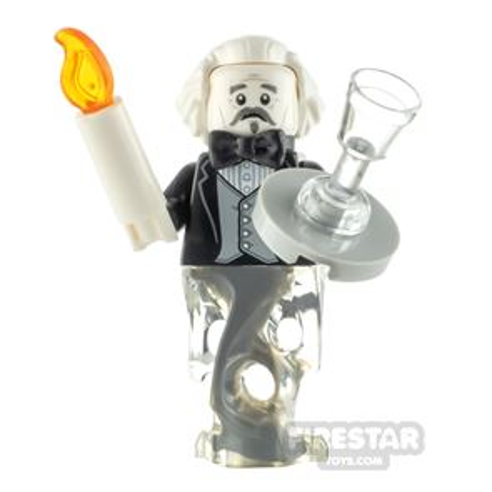 Custom Minifigure Ghost Butler