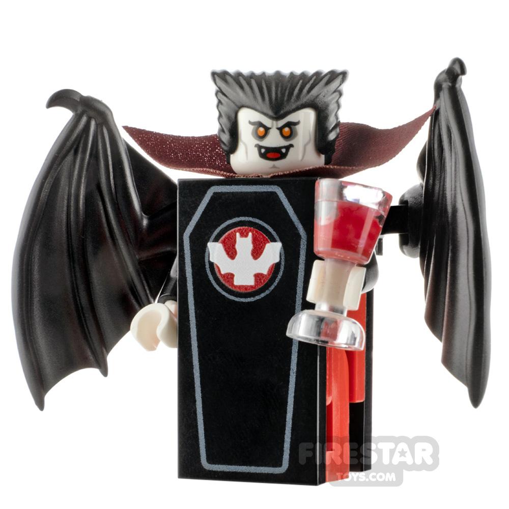 Custom Minifigure Count Dracular Coffin