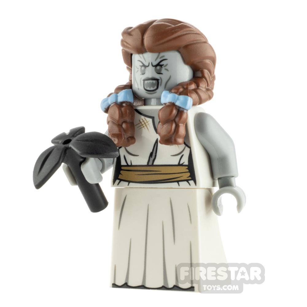Custom Minifigure Zombie Dorothy