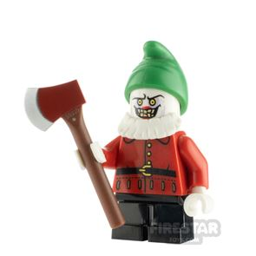 Custom Minifigure Evil Gnome