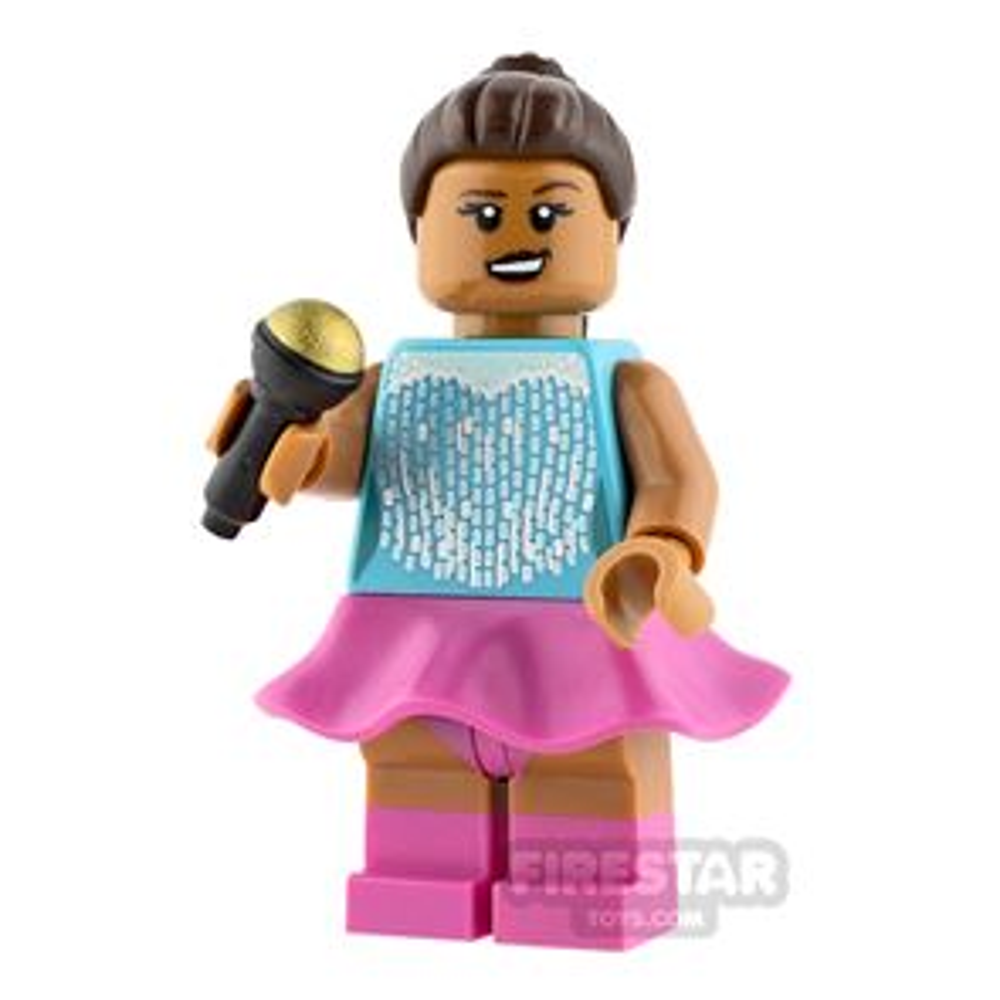 Custom Minifigure Ariana Grande
