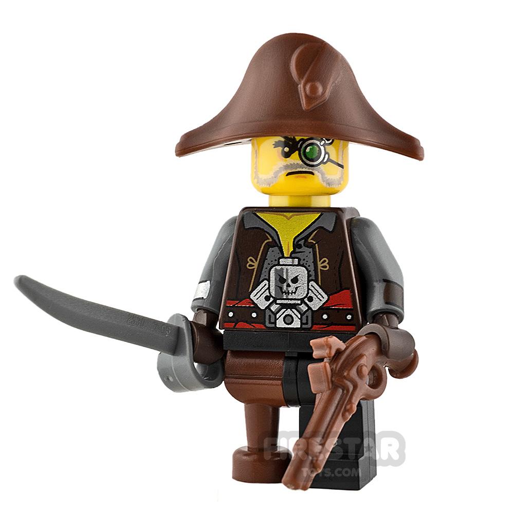 Custom Minifigure Steampunk Pirate