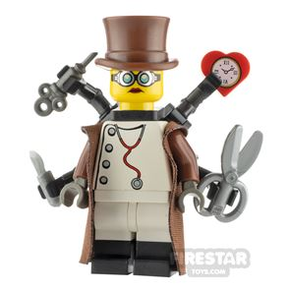 Custom Minifigure Steampunk Doctor