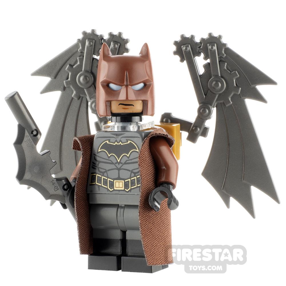 Custom Minifigure SH Steampunk Batman Steel