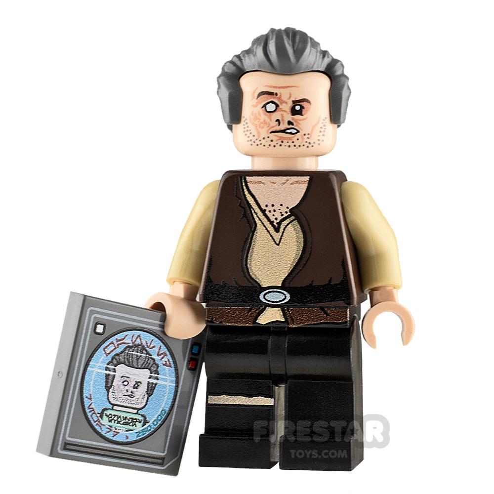 Custom Minifigure SW Scarred Doctor