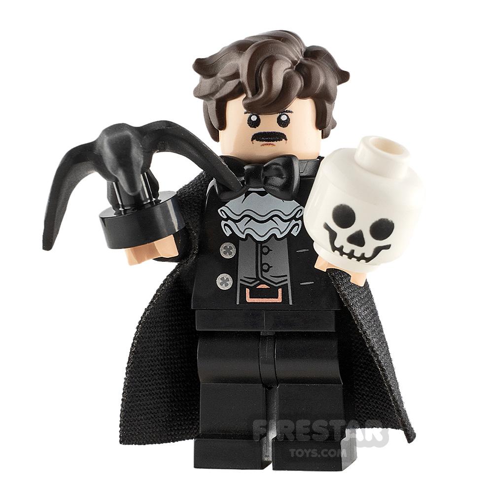 Custom Minifigure Edgar Alan Poe
