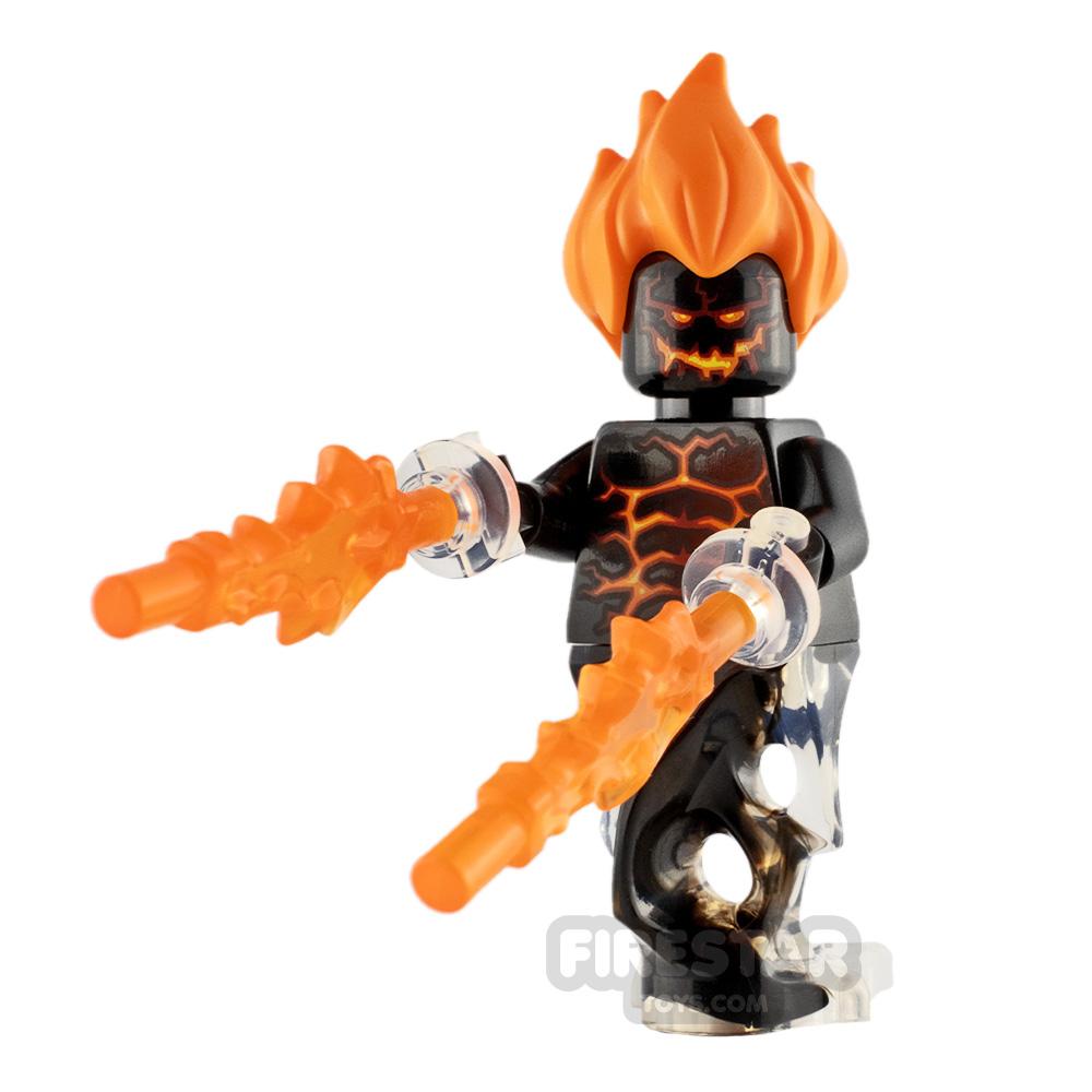 Custom Minifigure Fire Demon
