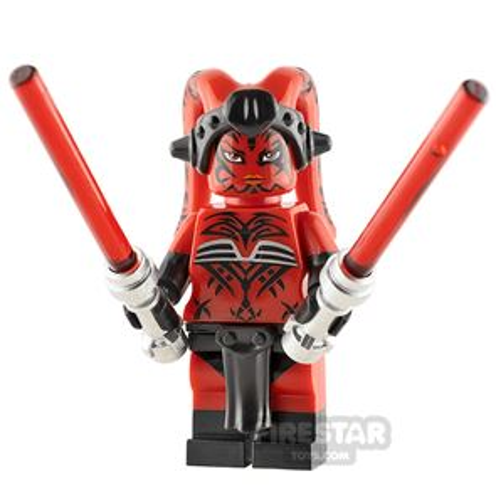 Custom Minifigure SW Dark Alien Temptress