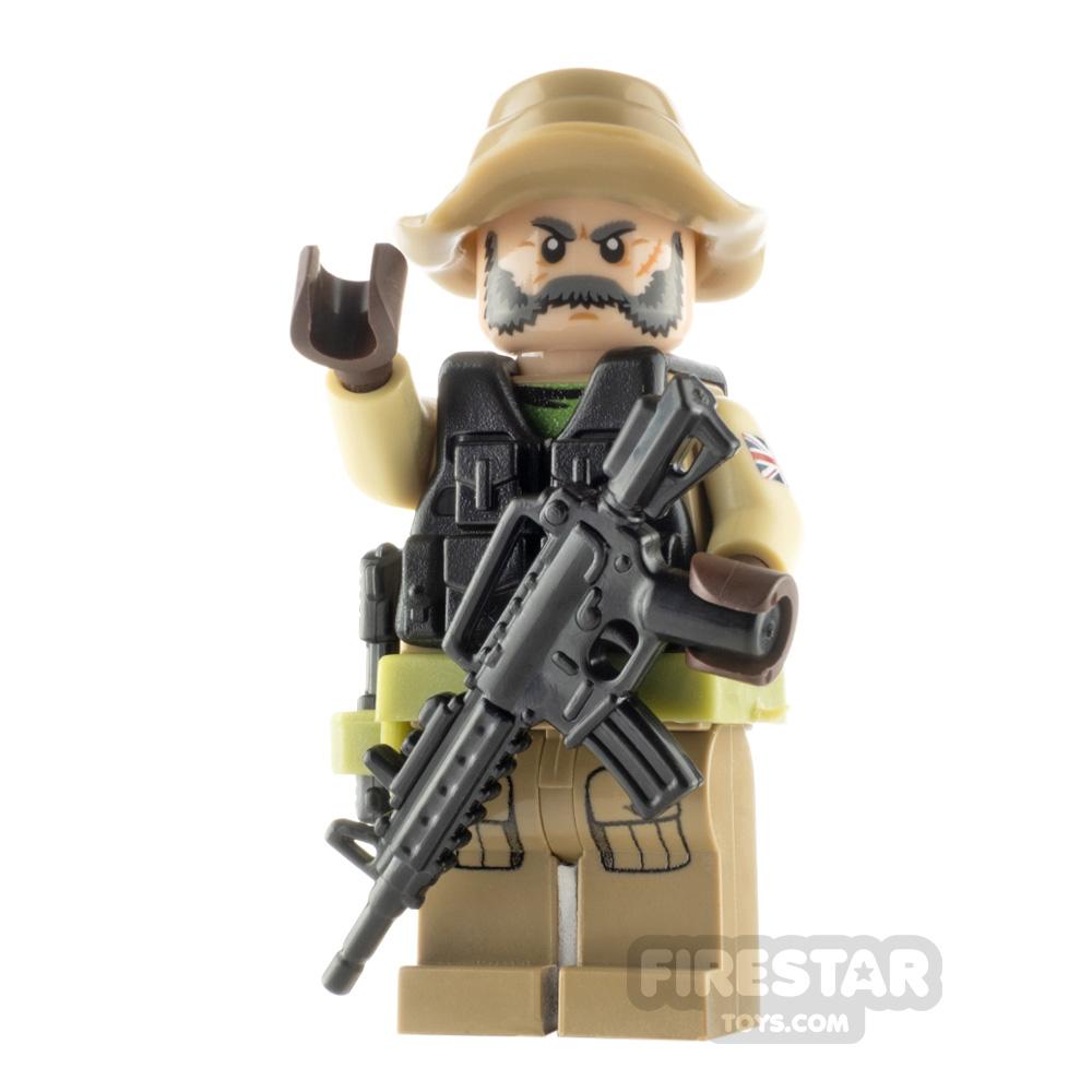 Custom Minifigure Captain Price