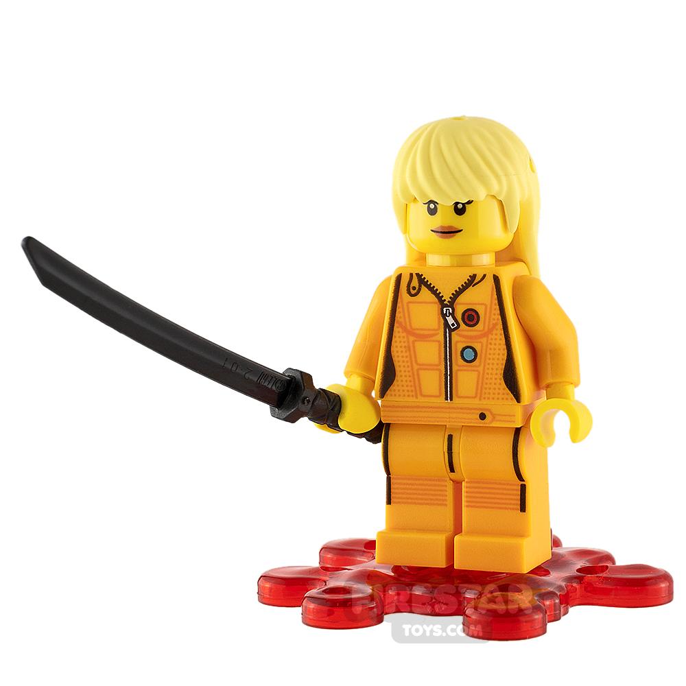 Custom Minifigure Kill Bill the Bride