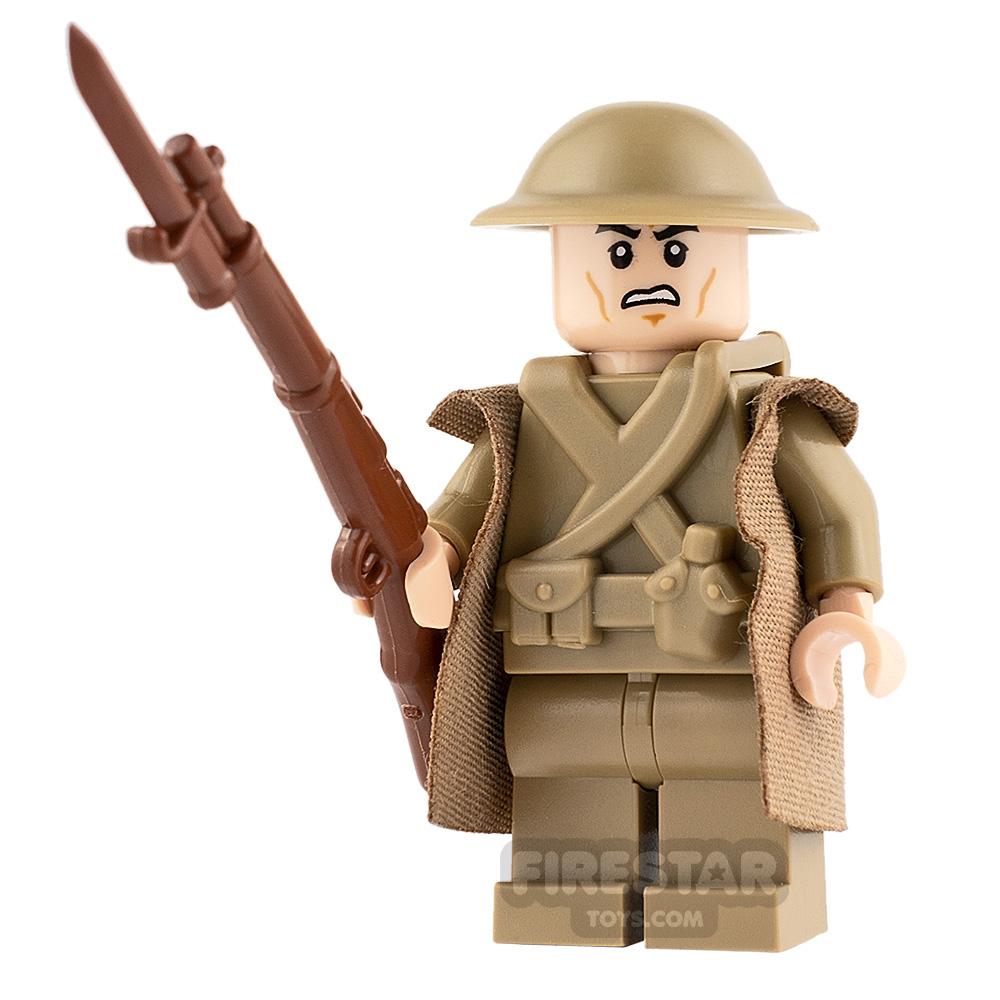 Custom Minifigure 1917 Lance Corporal Blake