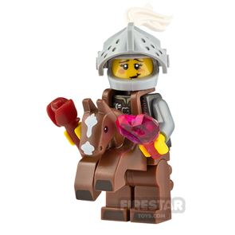 Custom Minifigure Knight in Shining Armour Female