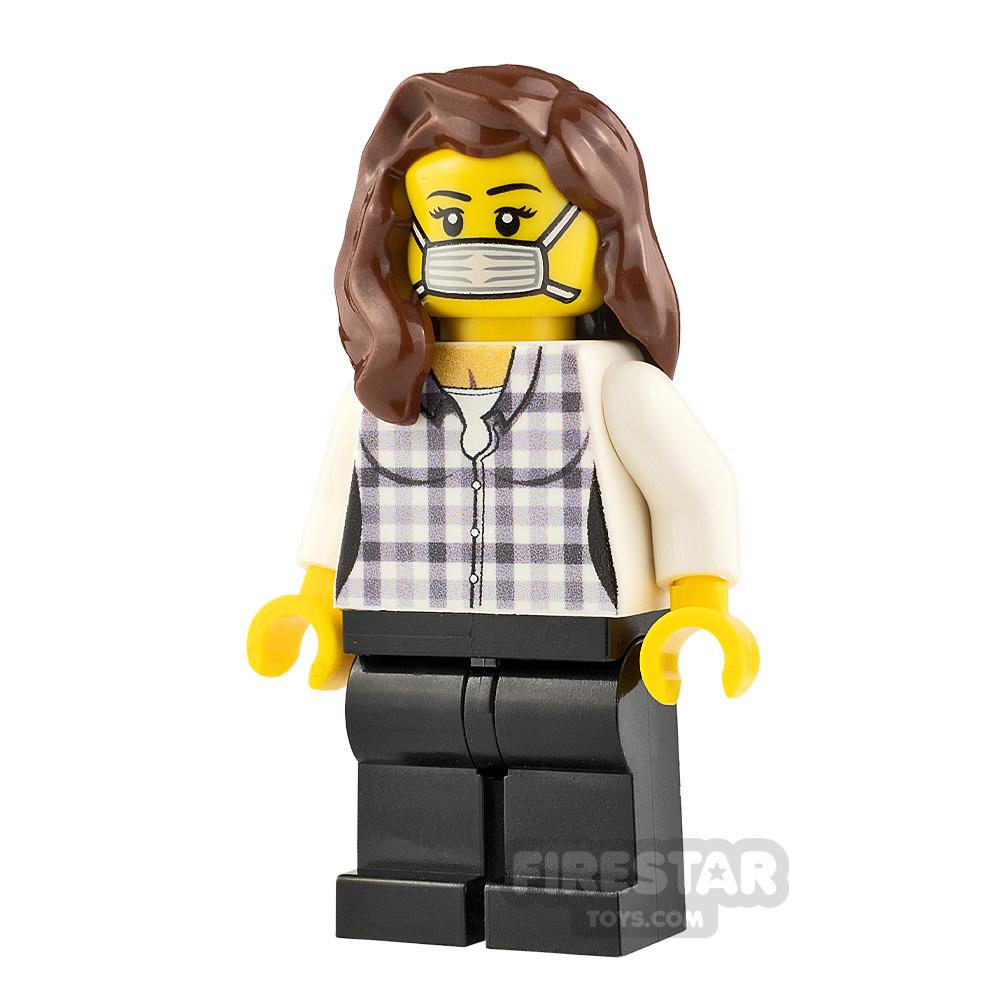 Custom Minifigure Cautious Female