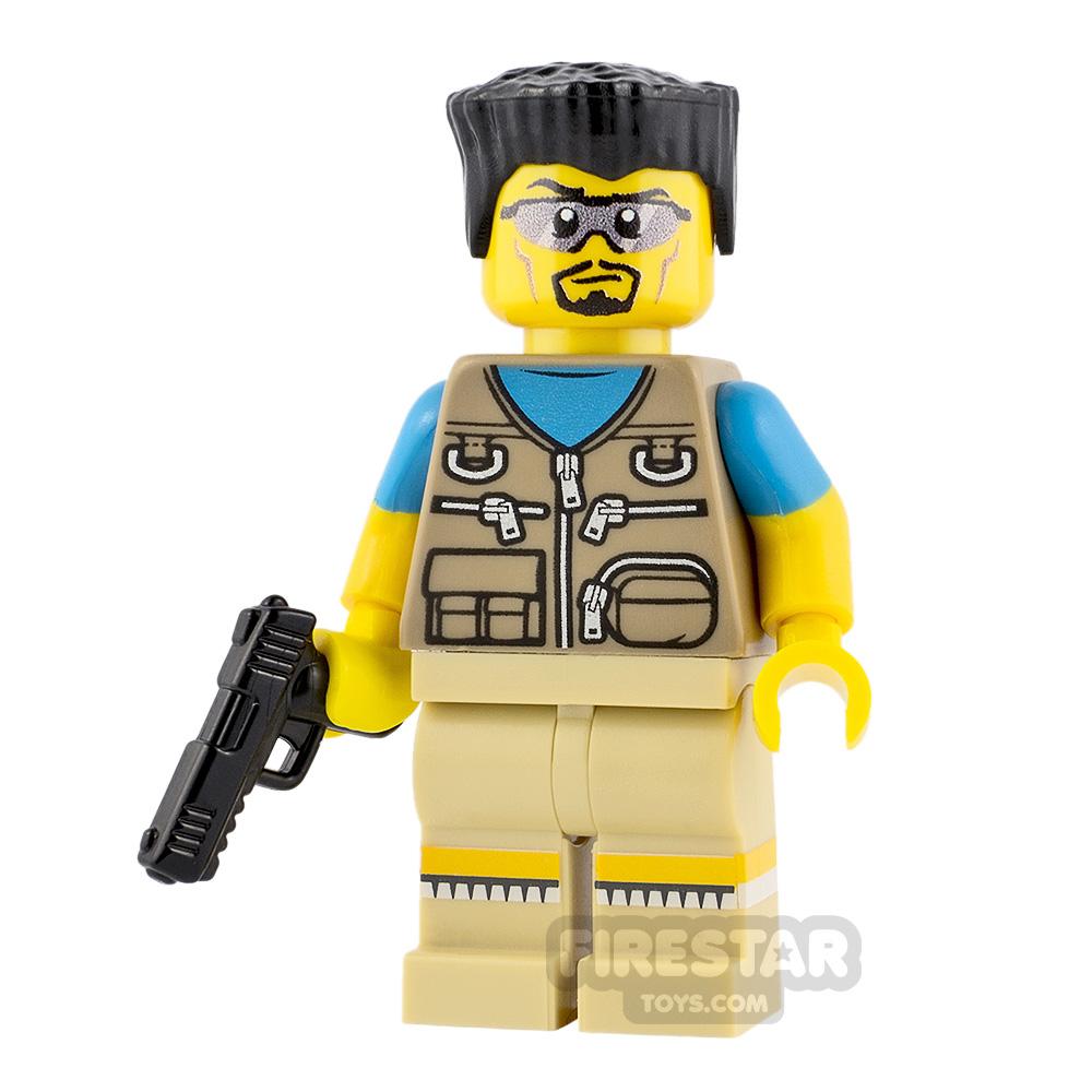 Custom Minifigure The Big Lebowski Walter