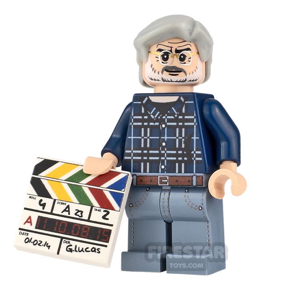 Custom Minifigure SW George Lucas