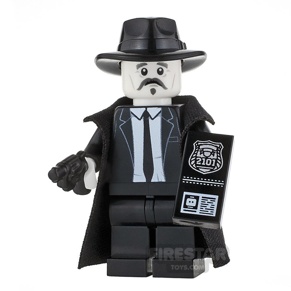 Custom Minifigure Film Noir Detective Male