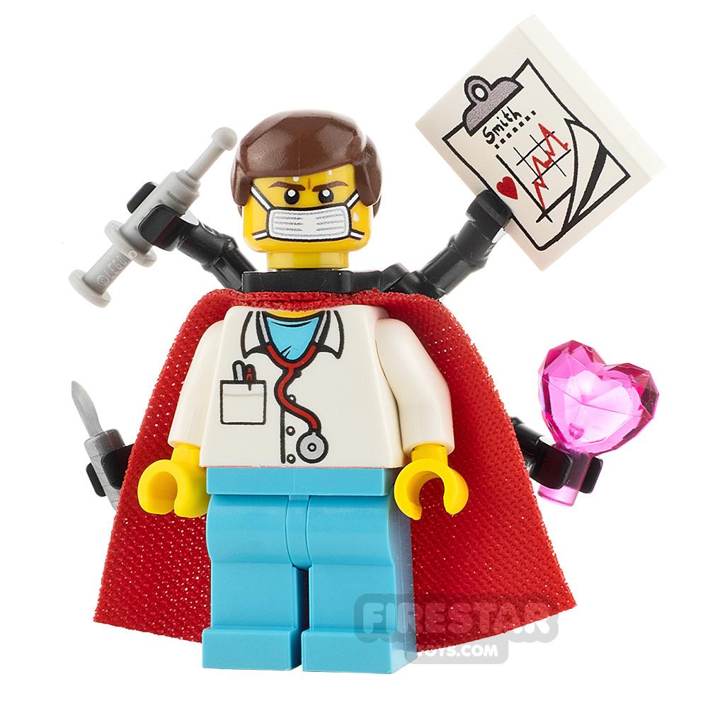 Custom Minifigure Super-Doc Male