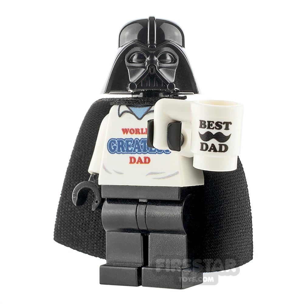 Custom Minifigure SW Worlds Greatest Dad