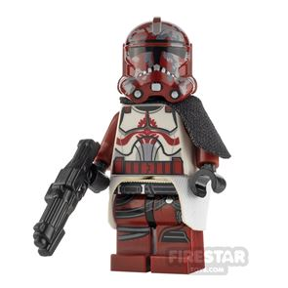 Custom Minifigure SW Clone Trooper Captain