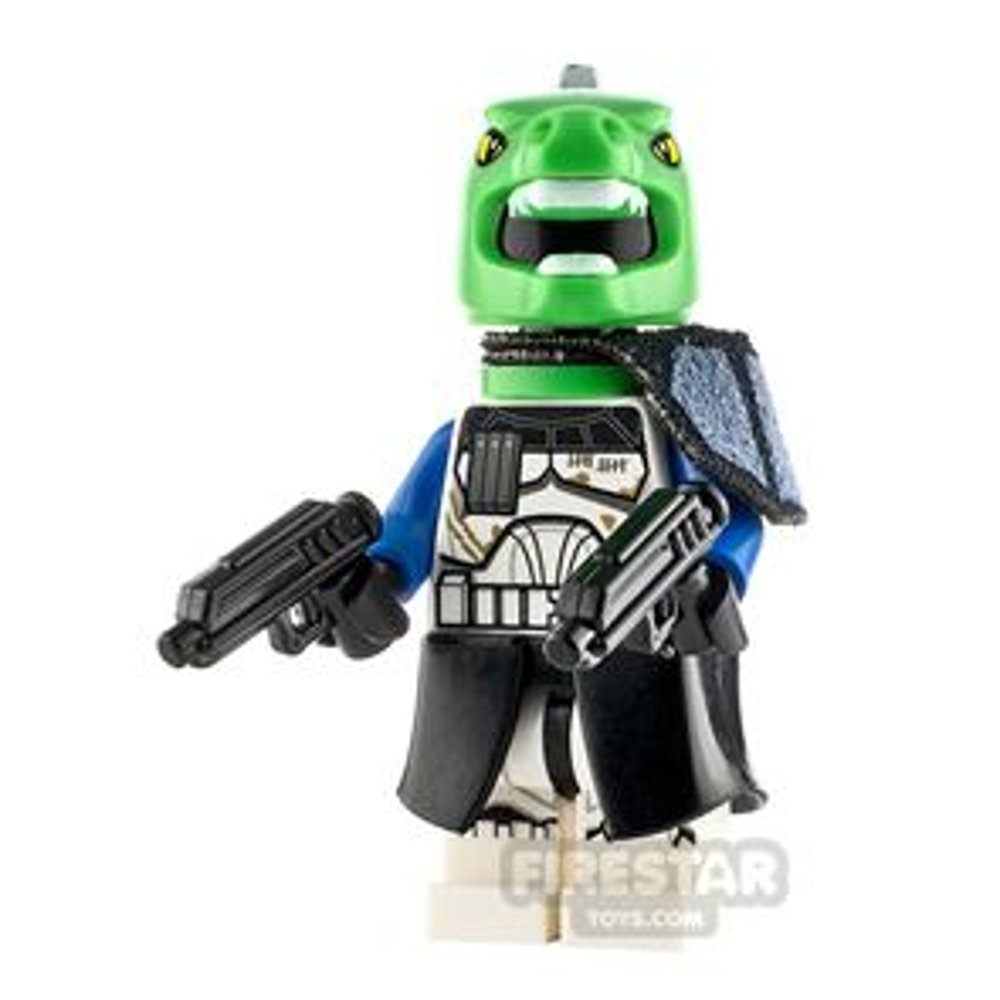 Custom Minifigure SW Captain T-Rex