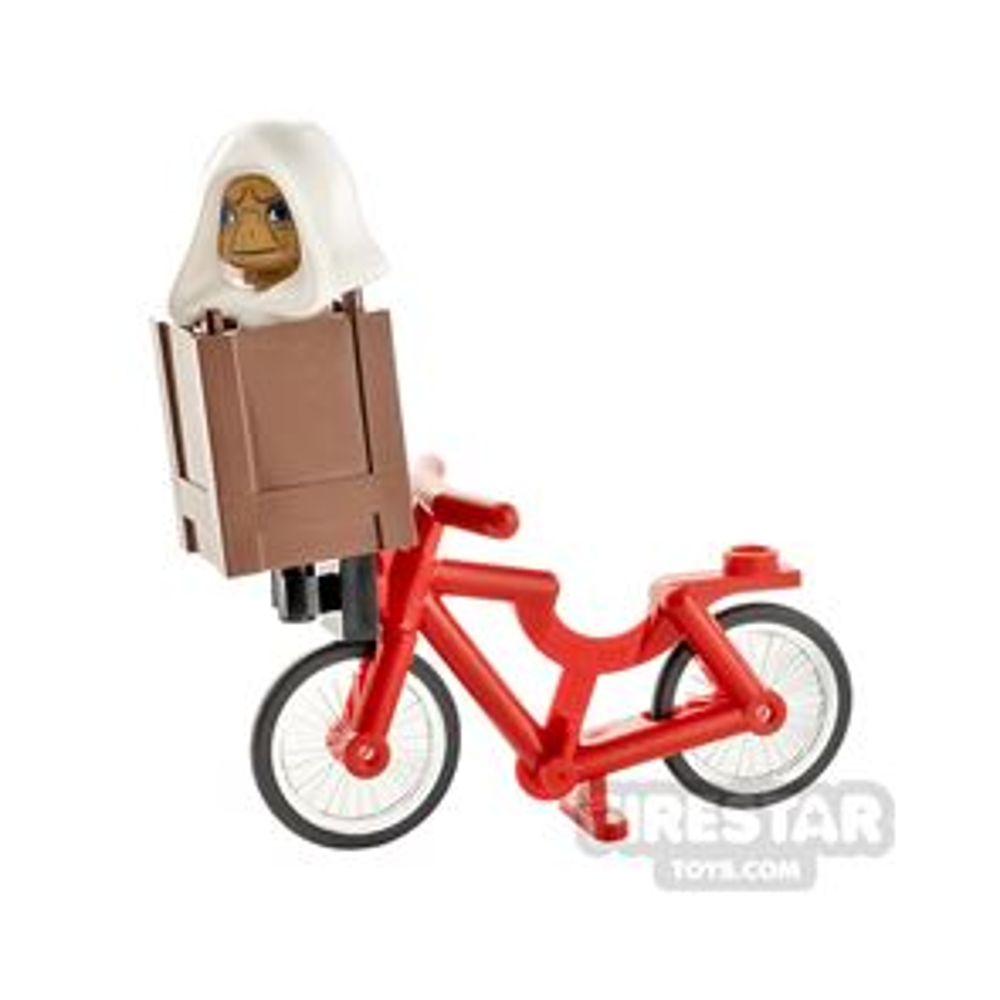 Custom Minifigure E.T. on Bike