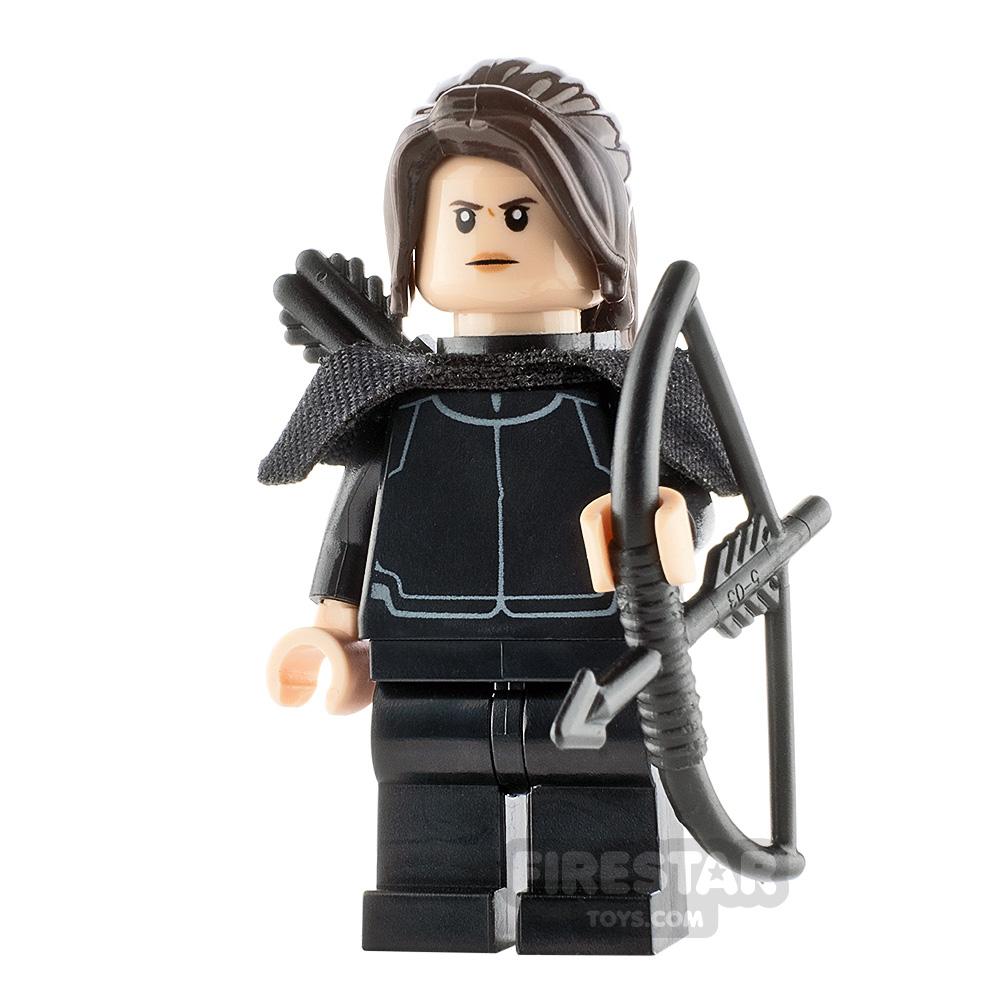 Custom Minifigure Hunger Games Katniss Everdeen
