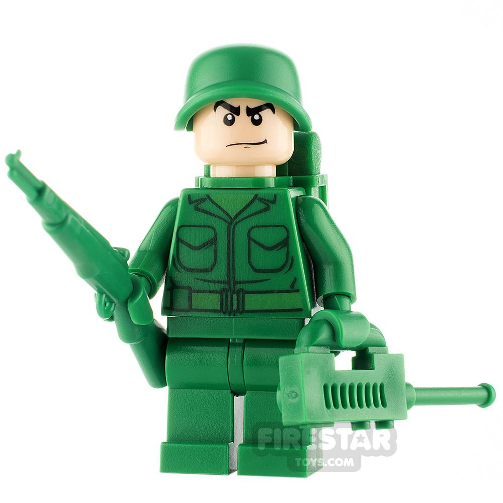 Custom Minifigure Green Army Patrol