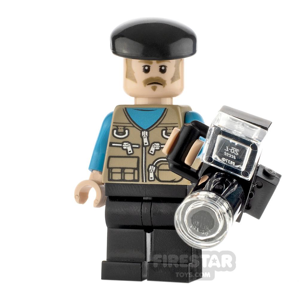 Custom Minifigure Photographer