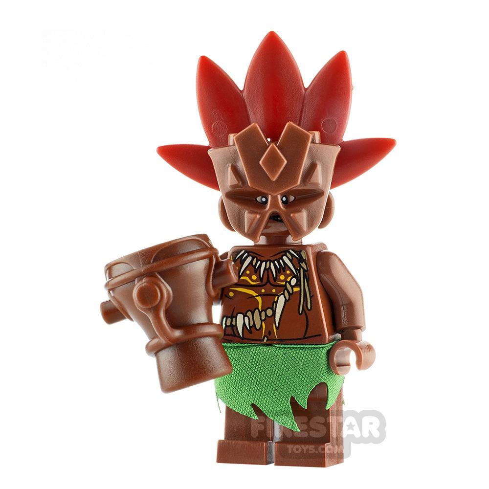 Custom Minifigure Tiki Warrior 2