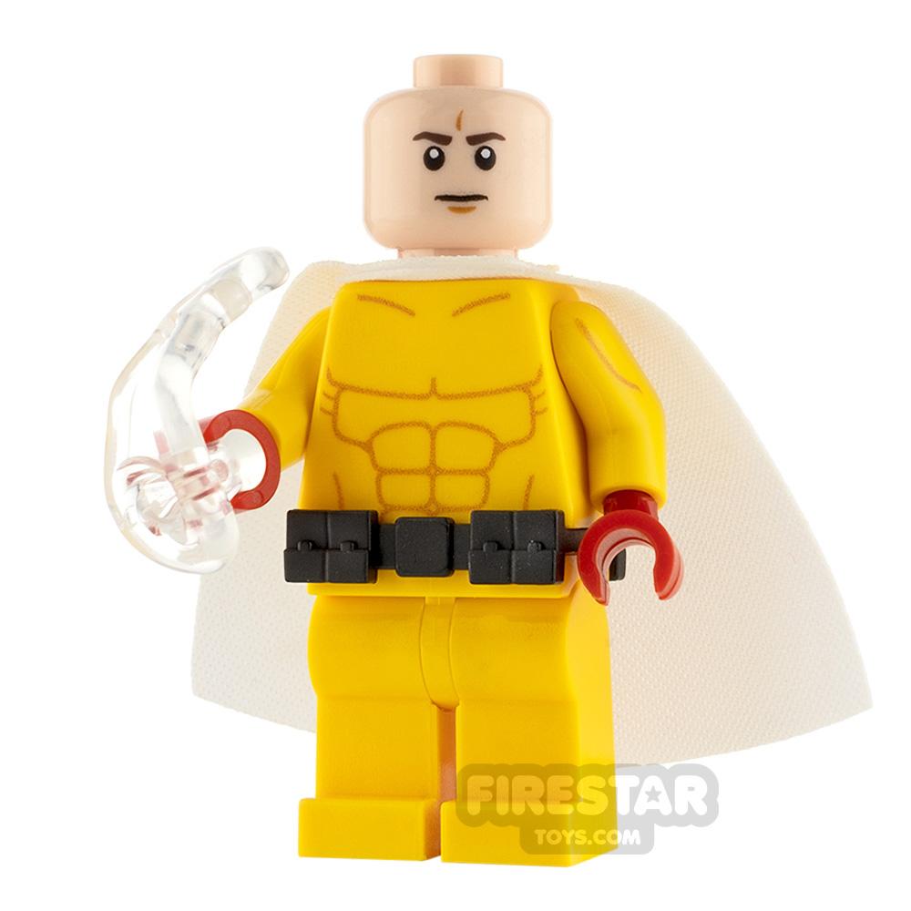 Custom Minifigure One-Punch Man Saitama