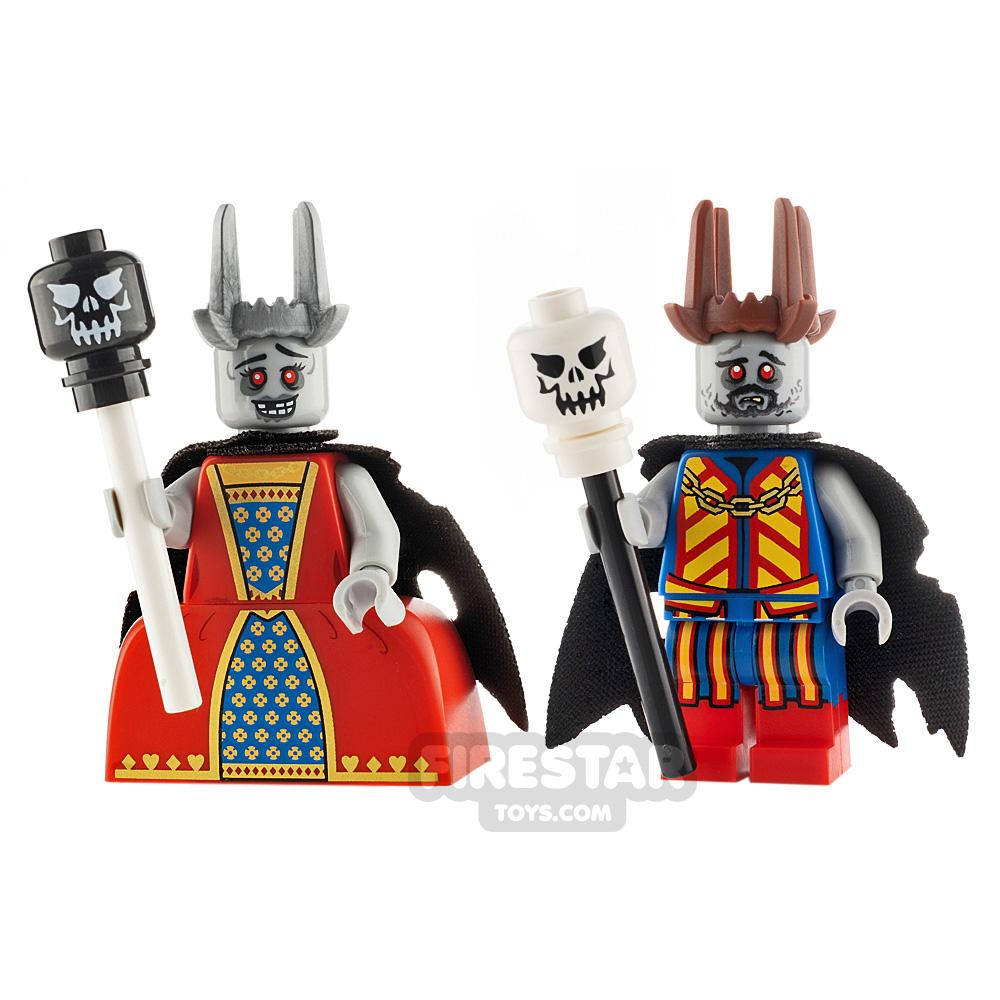 Custom Minifigure Pack Zombie Royalty