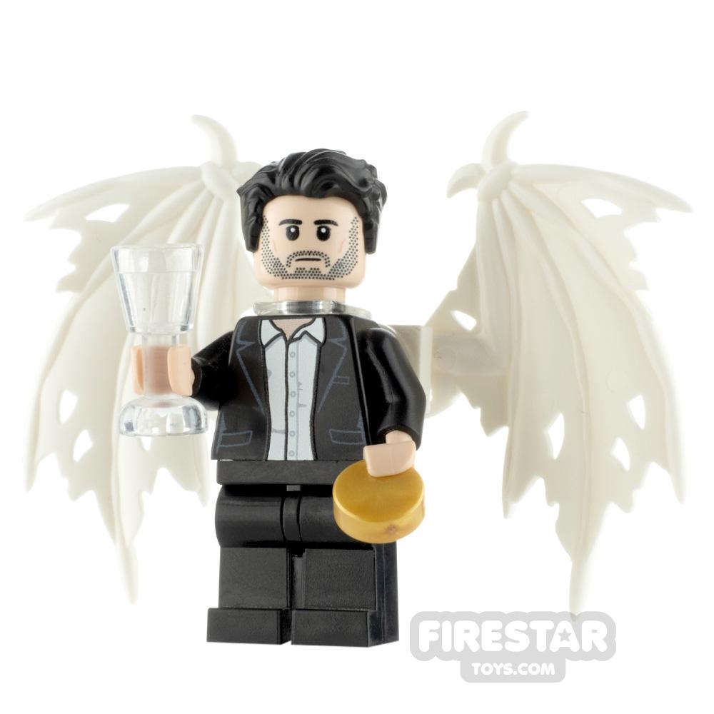 Custom Minifigure Lucifer Morningstar Fallen Devil