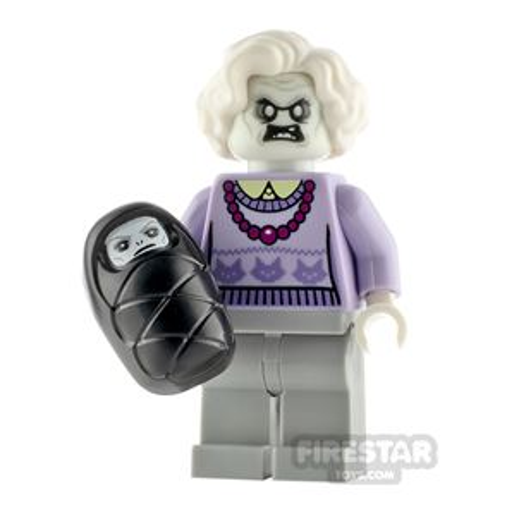 Custom Minifigure Haunted Granny