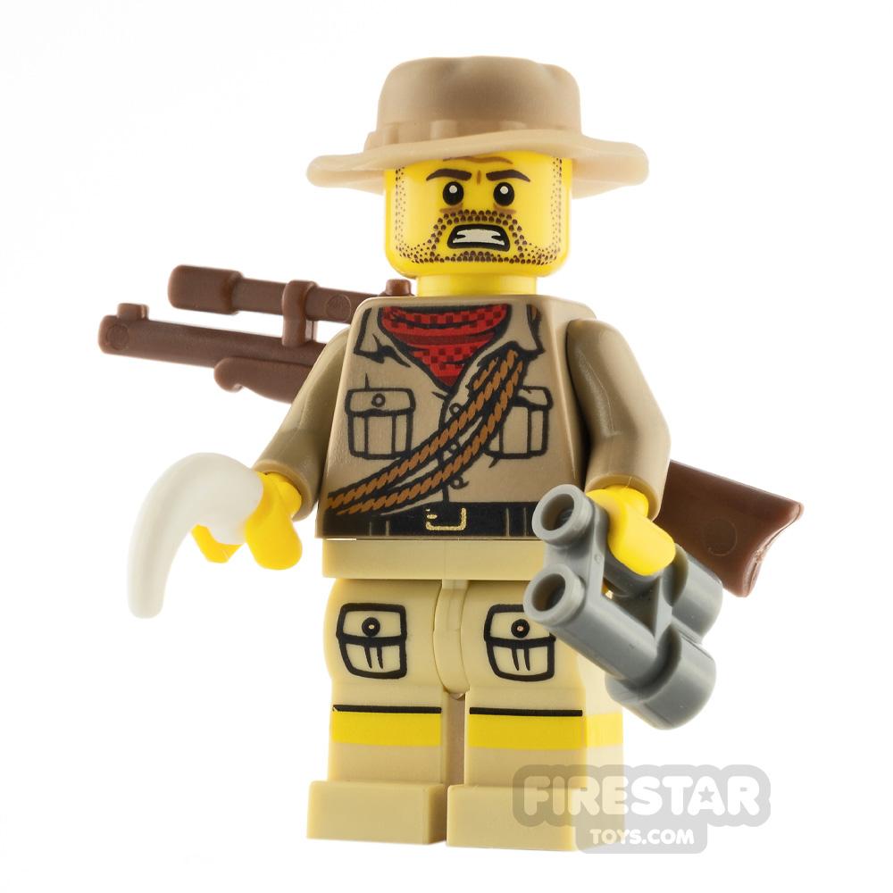 Custom Minifigure The Poacher