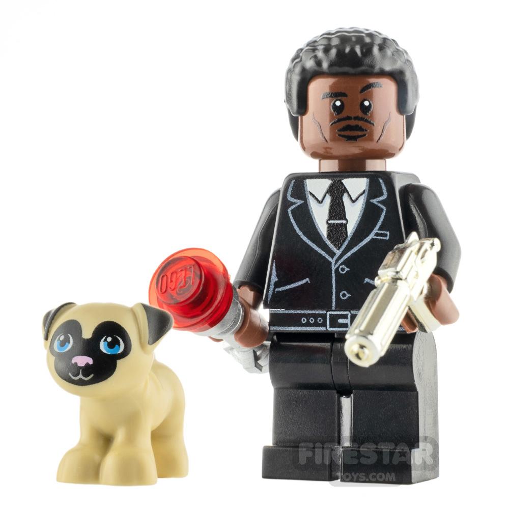 Custom Minifigure Men in Black - Agent J