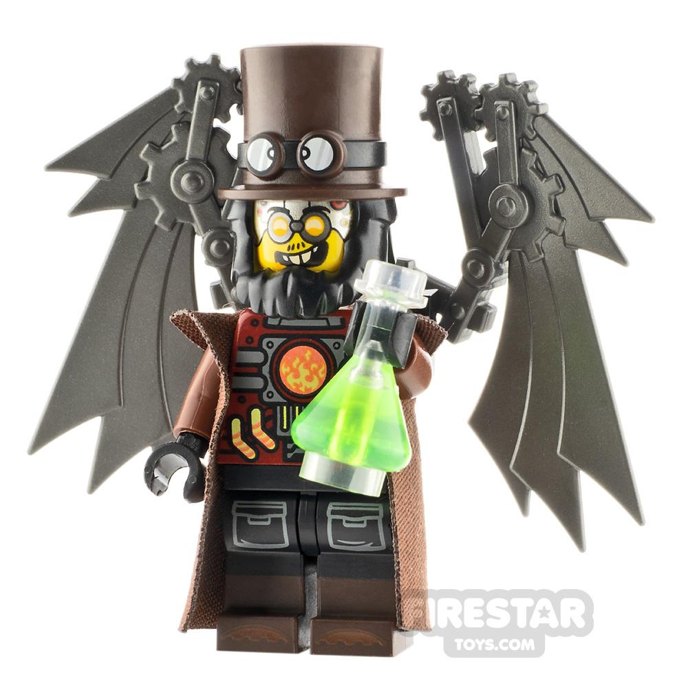 Custom Minifigure Steampunk Scientist