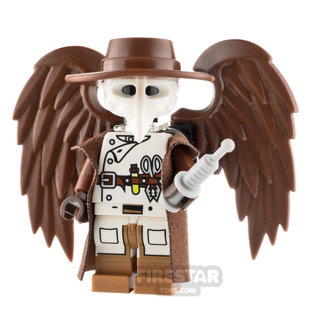 Custom Minifigure Steampunk Plague Doctor